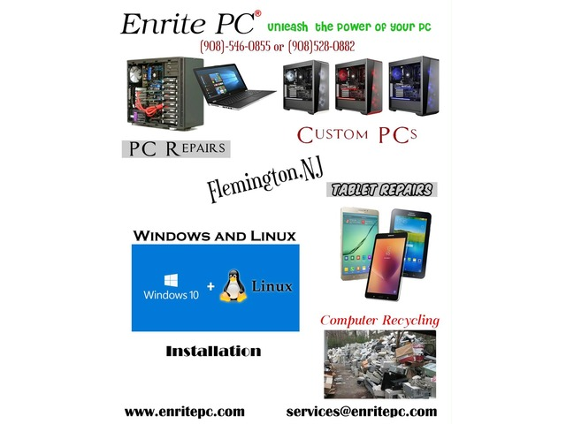 Hunterdon Buy Sell Trade >> Enrite Pc In Flemington Hunterdon County New Jersey