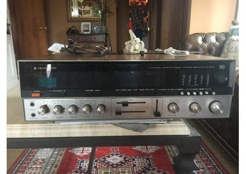 1972 Kenwood Amplifier