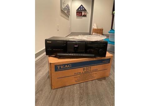 1997 Teac V-377 Stereo  Cassette Deck