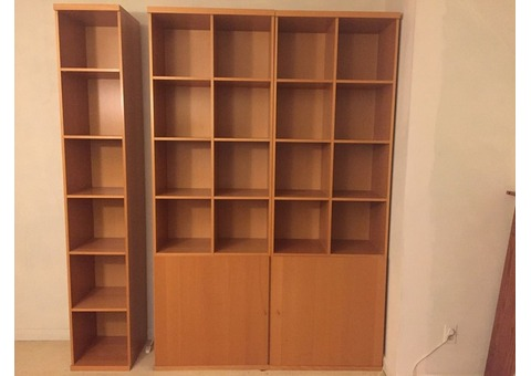 Wall Units & Bookcase