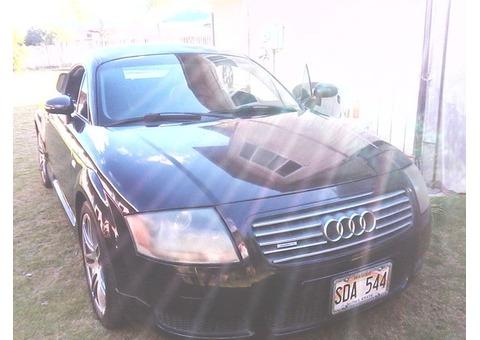2001 AUDI TT QUATRO