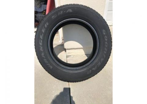 GoodYear Wrangler SR-A P275/60R20 Tire(Brand New)