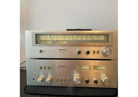Rotel AM/FM Tuner (RT-725) and Integrated Stereo Amplifier (RA413)